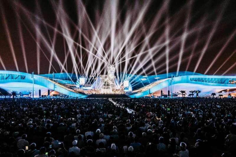 2018年10月13日,衛武營國家藝術文化中心,正式開幕啟用(陳菊臉書)