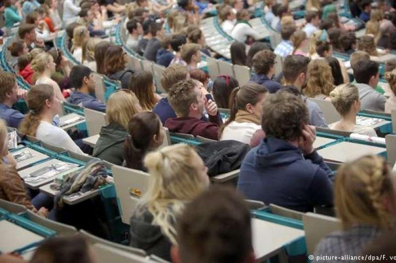 在德國上大學,一個月得花多少錢?(圖/德國之聲)