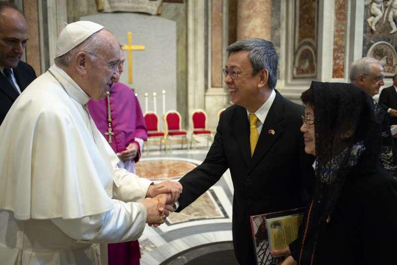 副總統陳建仁14日出席教廷封聖大典。(取自總統府Flickr)
