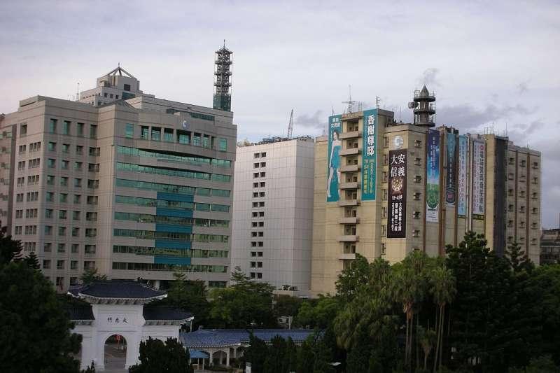 中華電信位於台北市信義路一段的總部。(取自Tianmu peter@wikipedia/CC BY 3.0)