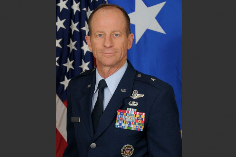 美國總統川普正式提名空軍退役准將史達偉 (David Stilwell)為國務院亞太助卿。(美國空軍官網)