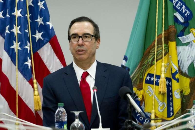 美國財政部長馬努欽。(美聯社)