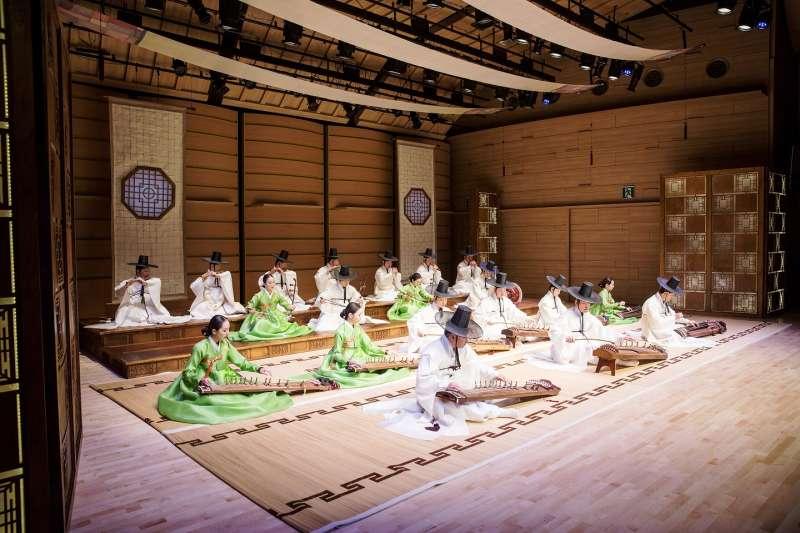 結合韓國傳統樂器與台灣國樂團的音樂會,即將在十一月登場,期望帶給觀眾全新聆聽享受。(圖/文化部提供)