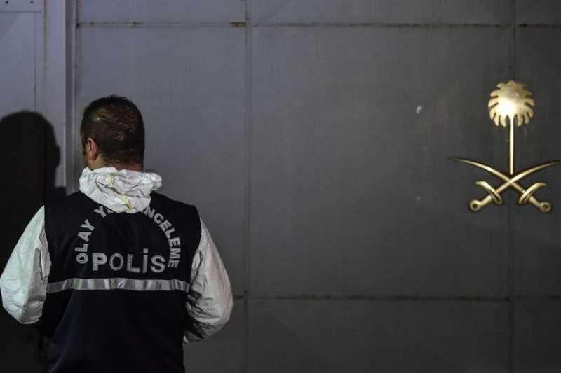 土耳其調查人員對沙國領事館及領事官邸進行了搜查。(BBC中文網)