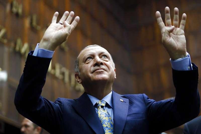 土耳其總統艾爾多安(AP)