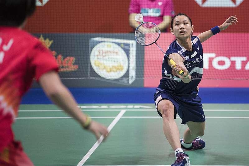 丹麥公開賽五組台灣好手晉級第三天,戴資穎往衛冕之路邁進。(資料照,美聯社)