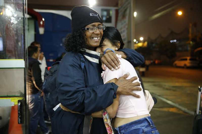 委內瑞拉母女步行逃往祕魯(AP)