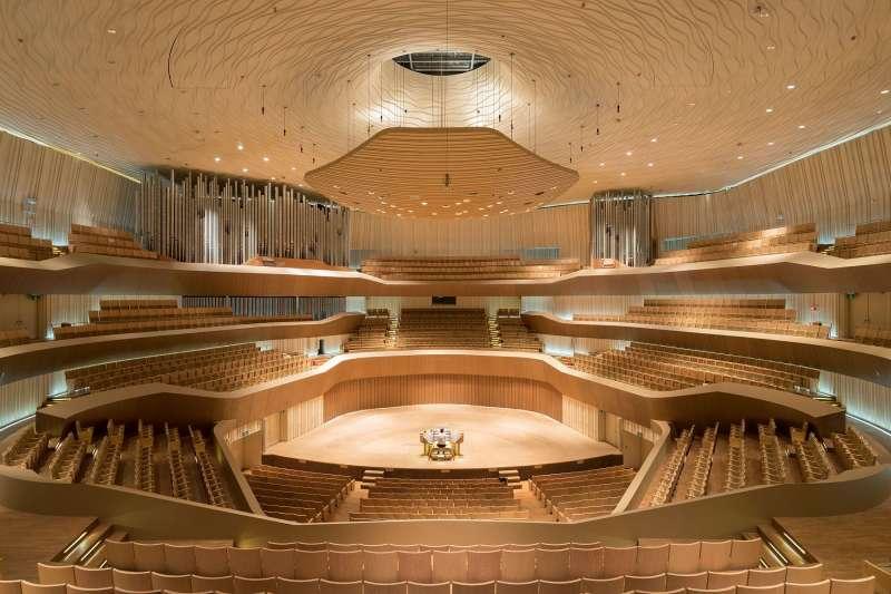 音樂廳(圖/衛武營國家藝術文化中心|文化+提供)