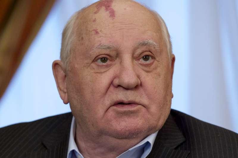 前蘇聯、俄羅斯領導人戈巴契夫(Mikhail Gorbachecv)(AP)