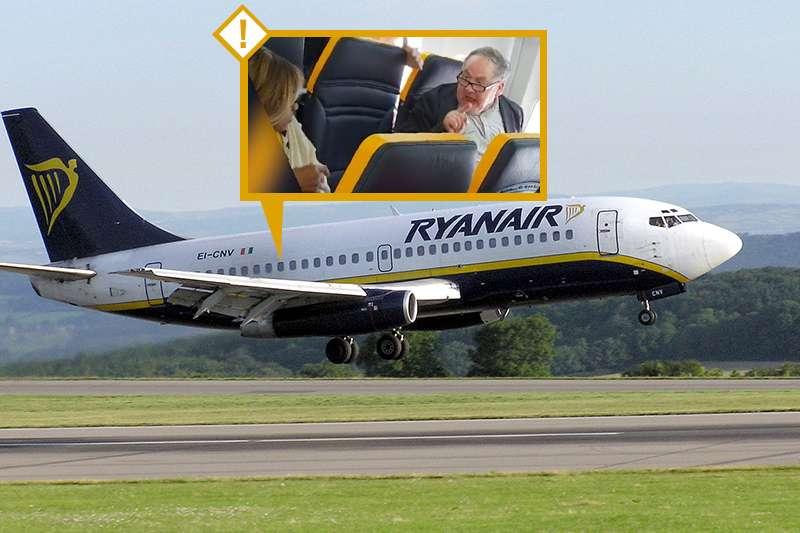 一名白人年邁男性在瑞安航空的班機上辱罵一名黑人老婦,瑞安航空的處理方式惹怒網友,引來抵制聲浪(照片:網路;Wikipedia/Public  Domain。製圖:風傳媒)