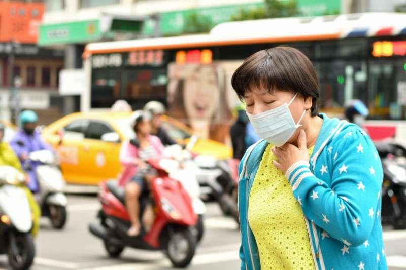 空氣污染、交通廢氣恐增加肺阻塞罹病風險。圖為示意圖。(利眾公關顧問股份有限公司提供)