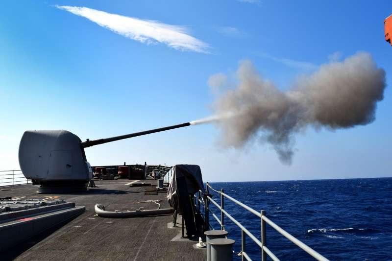 美國海軍飛彈巡洋艦「安提坦號」(USS Antietam)(安提坦號臉書)