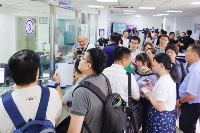 《港澳台居住證申請發放辦法》正式施行,台灣民眾得於中國申請居住證。(翻攝自中國台灣網)
