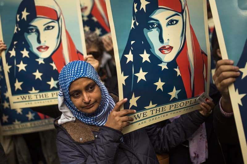 許多美國共和黨籍的候選人利用「反穆斯林」情緒為炒作手段(美聯社)