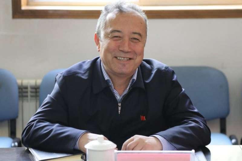新疆喀什大學校方高層前校長俄梅爾(Erkin Omer)。(取自維吾爾人權項目)