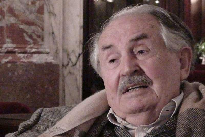 托尼諾.谷耶拉(Tonino Guerra)與安東尼奧尼合作約十年。 (取自網路)