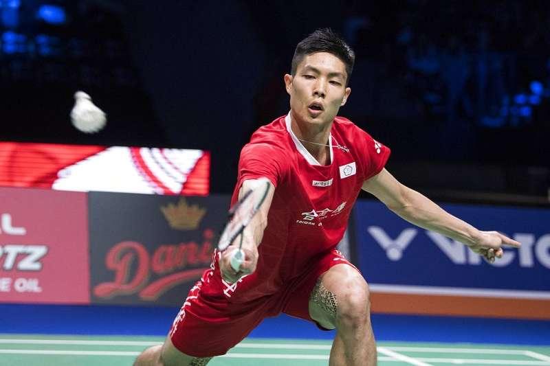 周天成在中國舉辦的福州公開賽首輪,以2比1的局數擊敗韓國好手李東根,晉級16強賽事。(美聯社)