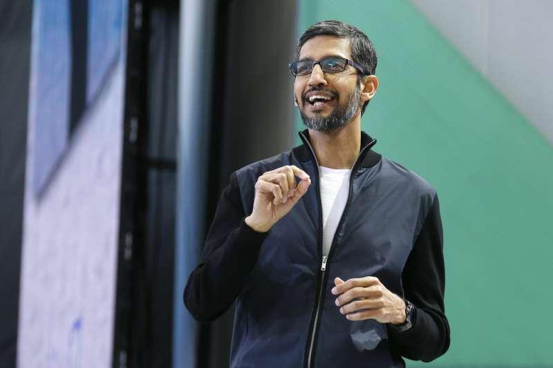 Google執行長皮蔡。(Sundar Pichai)
