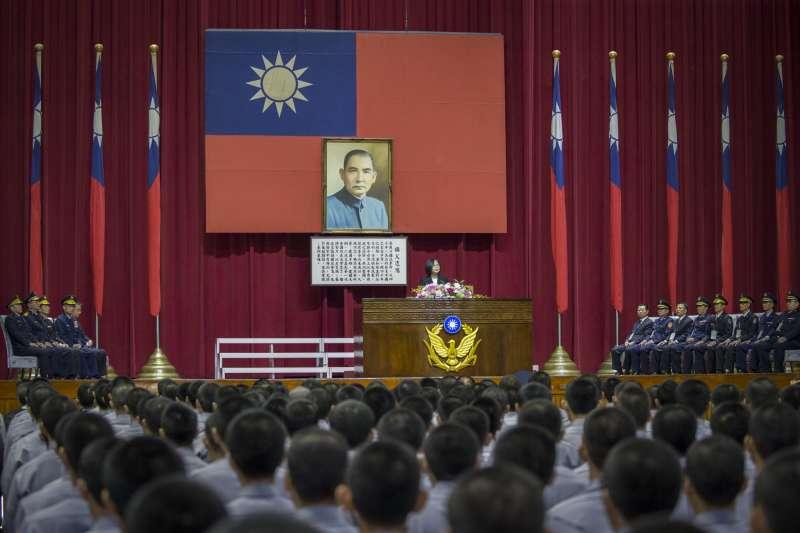 20181027-總統蔡英文27日上午出席「台灣警察專科學校73周年校慶大會」。(取自總統府)