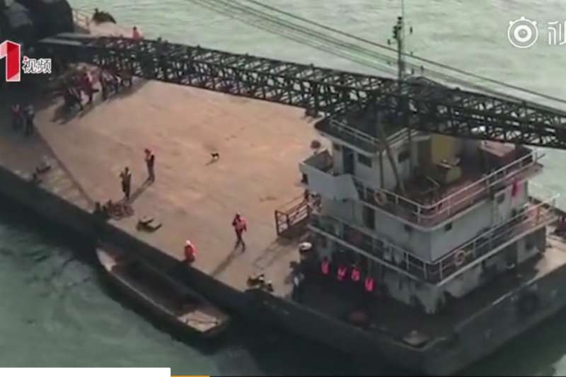 中國重慶市28日發生重大車禍(取自網路)