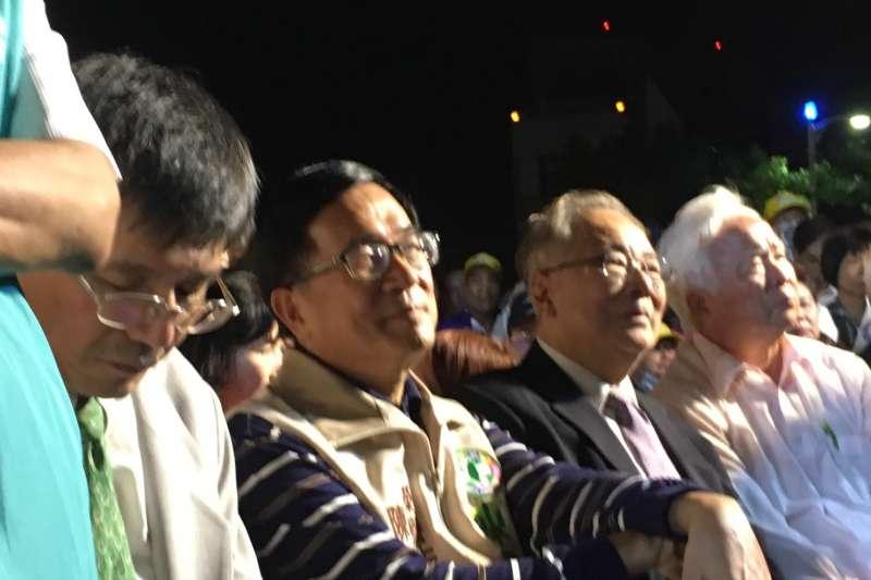 陳水扁拋黨主席政見 預測民進黨中常會上演「慰留秀」-風傳媒