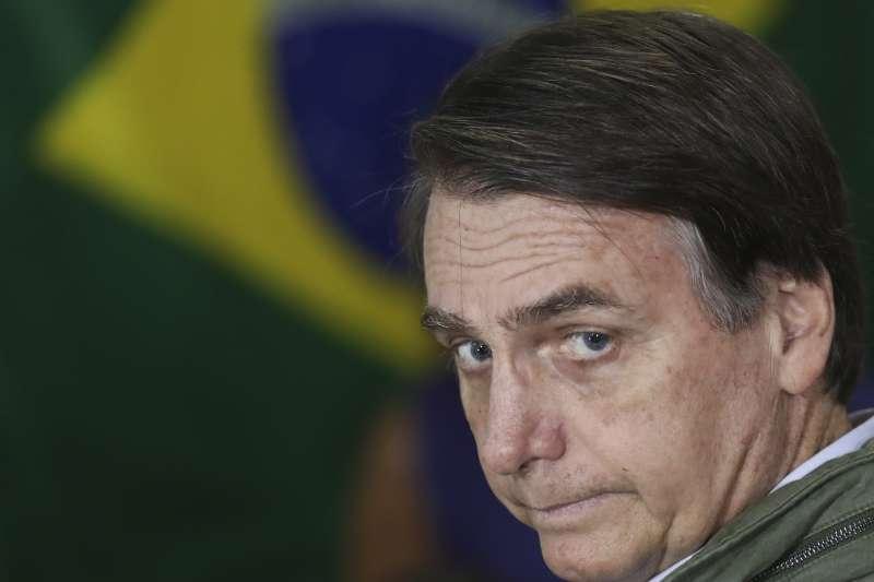 巴西新總統博索納羅(AP)