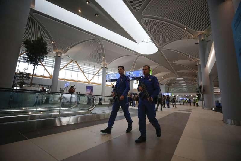 伊斯坦堡第三座國際機場29日啟用(AP)