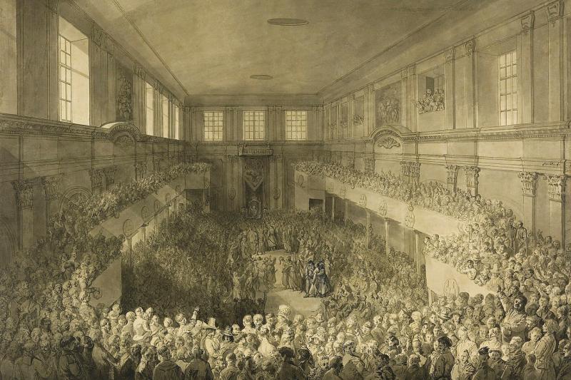 1791年5月3日,波蘭立陶宛聯邦制定歐洲首部成文的國家憲法「五三憲法」。(Wikipedia / Public Domain)