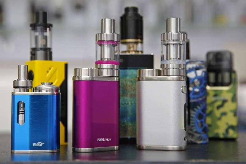 電子煙 ,香港,吸菸有害健康(AP)