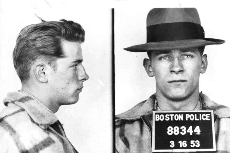 曾名列全美「十大通緝要犯」的巴爾杰,1953年就曾遭波士頓警方逮捕。(AP)