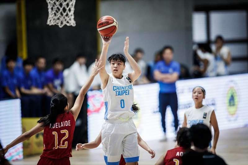 亞洲U18女子籃球錦標賽,中華女籃在第3戰以大比分擊敗印尼,保有晉級4強的希望。(圖取自FIBA官網)