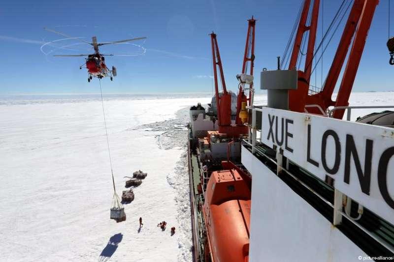 中國計畫在南極建設永久機廠(德國之聲)