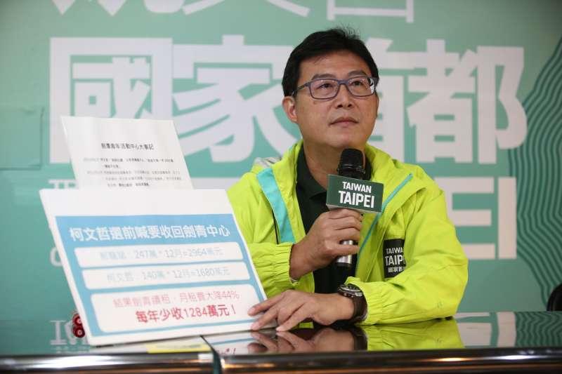 民進黨台北市長候選人姚文智。(姚文智辦公室提供)