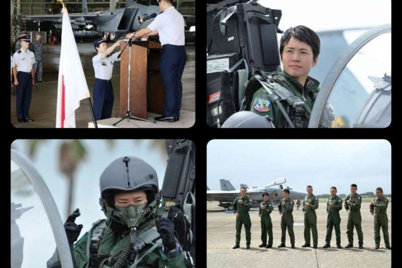 日本首位女性戰機飛行員松島美紗。(日本航空自衛隊官網)