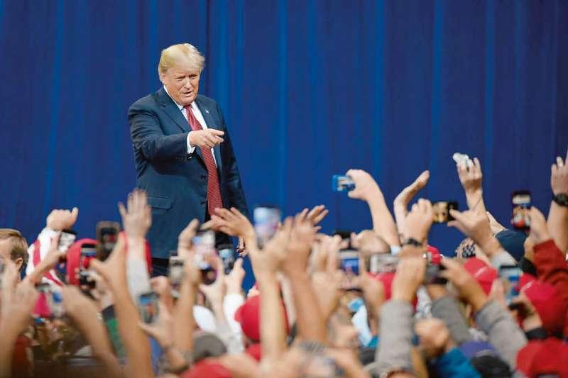 美國期中選舉即將來臨,選舉結果也將影響川普未來政策的走向。(多維提供)