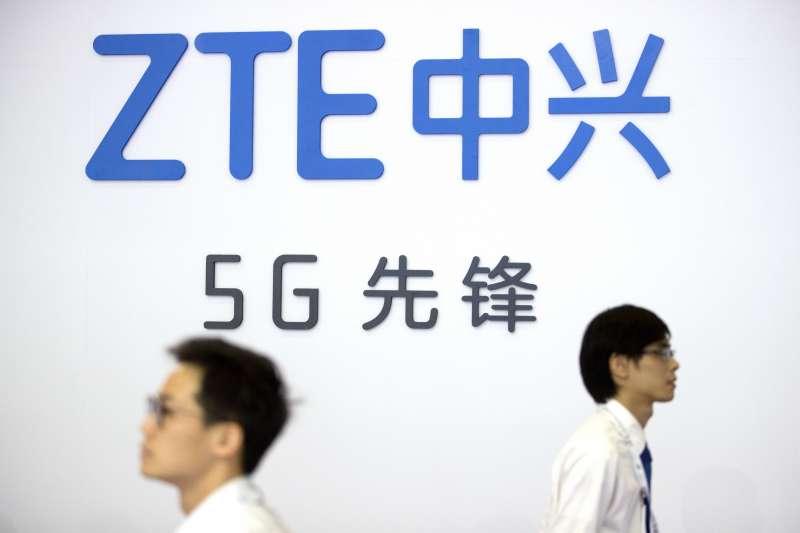 中國全力布建5G網絡,中興通訊(AP)