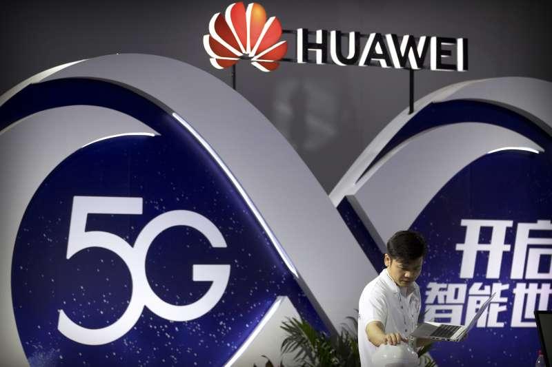 中國全力布建5G網絡,華為(AP)