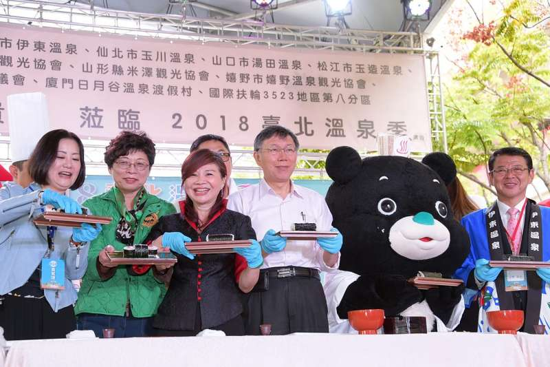台北市長柯文哲2日受訪表示,高雄市長參選人韓國瑜之前在北農當總經理好好的,民進黨何必去捅這個蜂窩搞得現在高雄選情危險。(台北市政府提供)