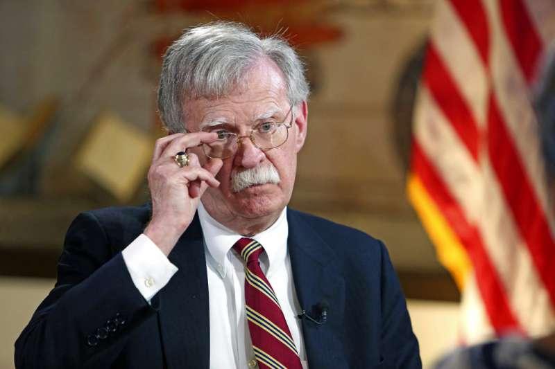 美國白宮國家安全顧問波頓(AP)
