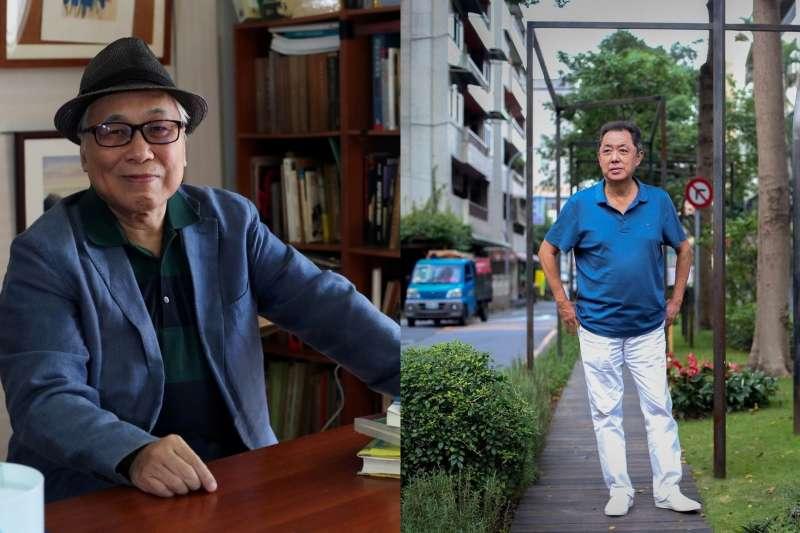 朱延平一人扛起了80年代商業電影的大擔子;黃建業出生香港,卻因長期居住台灣而對當年有一套他的觀察。(圖/文化+)