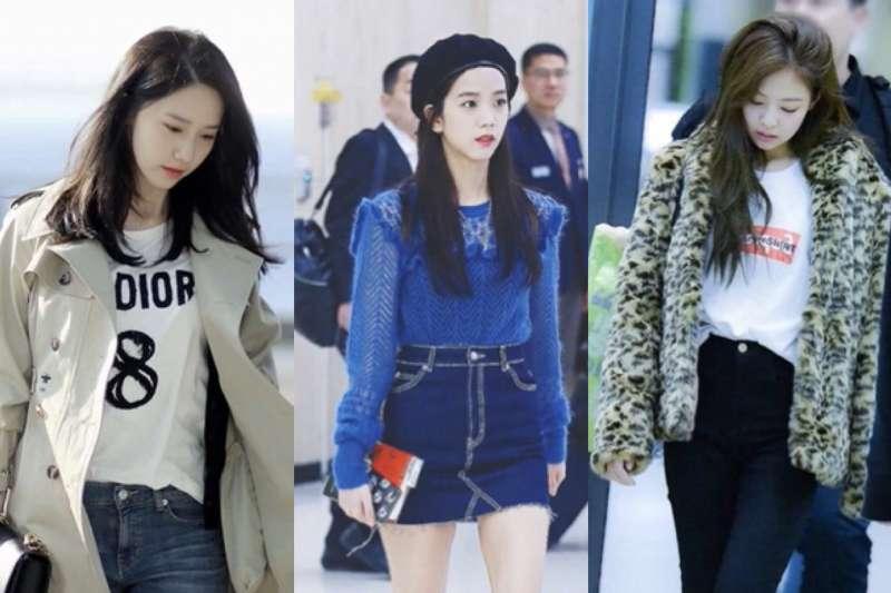 跟著韓國女生學穿搭,看起來臉小又顯瘦啊!(圖/kfashionstyle@youtube)