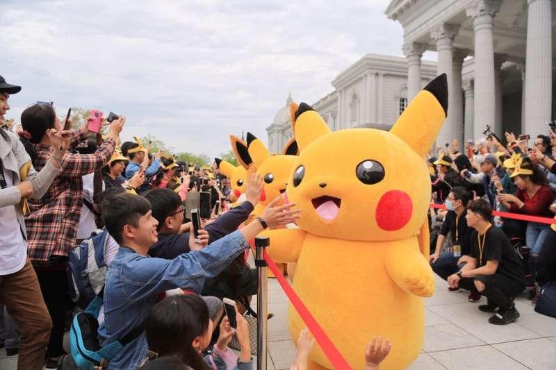 台南《Pokémon GO Safari Zone in Tainan》活動進入第3天。適逢週末假期,眾多大小朋友都一齊出門抓寶,盛況超乎預期。(台南市觀光旅遊局提供)