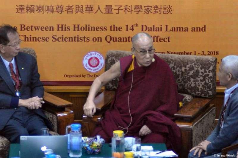 科學對談超過30年 達賴喇嘛會李遠哲(DW)