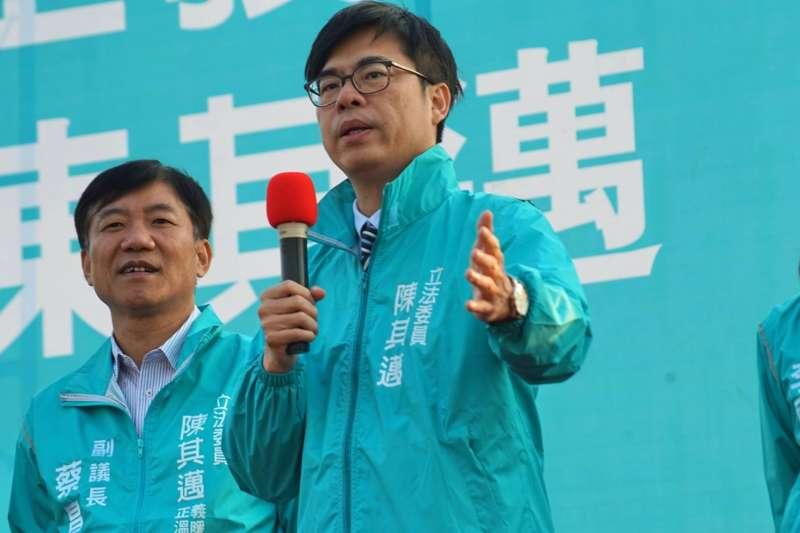 民進黨高雄市長候選人陳其邁(陳其邁FB)