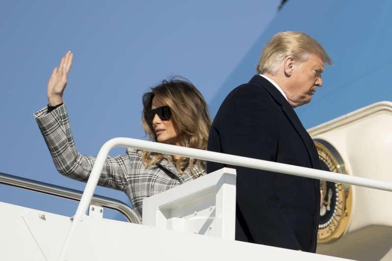 美國總統川普的太太、第一夫人梅蘭妮亞完全不參加任何選舉造勢活動(AP)