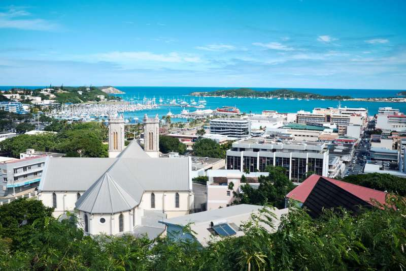 法國南太平洋海外屬地「新喀里多尼亞」(AP)