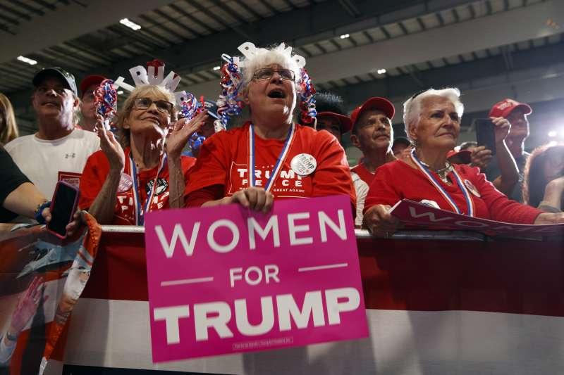 美國期中選舉,白人女性選民成關鍵(AP)