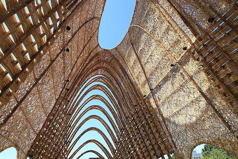 竹跡館同時入圍WAF世界建築獎(World Architecture Festival Awards)本屆「未來-休閒開發」項目。(圖/瘋設計)