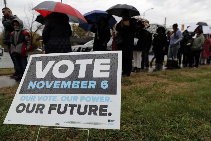 2018美國期中選舉即將在11月6日舉行,選前超級星期天兩黨大咖都卯足全力助選。(美聯社)