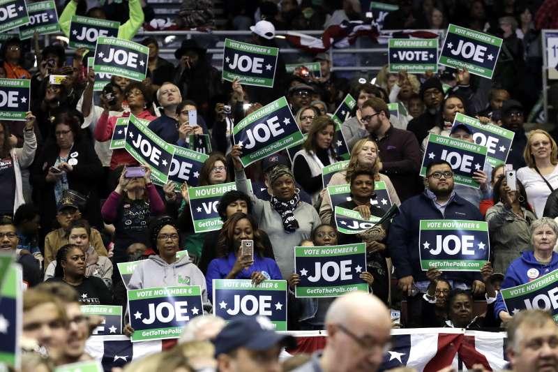 2018美國期中選舉即將在11月6日舉行,選前超級星期天兩黨都卯足全力催票。(美聯社)